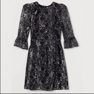 NWT H&M x The Vampire's Wife Lace Mini Dress